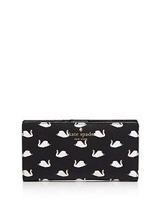 kate spade new york Hawthorne Lane Swans Stacy Wallet