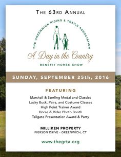 A Day in the Country Horse Show 2016 Prize List by Blythe Stoecklein - issuu