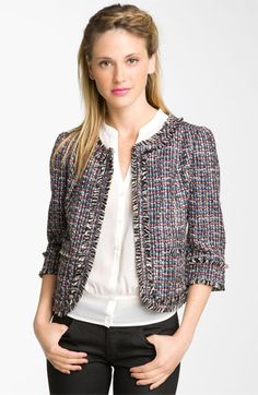 Frenchi 'Vanity' Tweed Jacket
