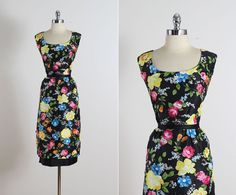 Chenonceaux . vintage 1950s dress . vintage by millstreetvintage