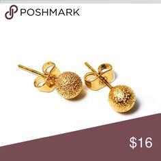 Dainty Gold Jewelry Stud Earrings 18k Plated Star Dust Cover Alia