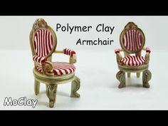 How to make a armchair miniature - Furniture tutorial - YouTube