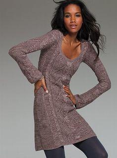 Cable-knit Scoopneck Sweaterdress #VictoriasSecret http://www.victoriassecret.com/clothing/dresses/cable-knit-scoopneck-sweaterdress?ProductID=77511=OLS?cm_mmc=pinterest-_-product-_-x-_-x