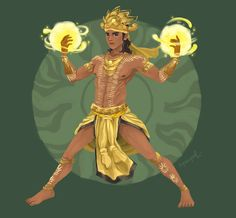 Adlaw (Philippines) - the god of the sun. Adlaw can manipulate all aspects of a sun's power (immense heat and luminosity).