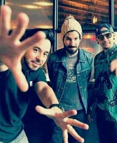 Chester❤, Mike and Brad