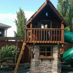 Play Houses, Playroom, Cabin, House Styles, Home Decor, Homemade Home Decor, Game Room, Cabins, Playrooms
