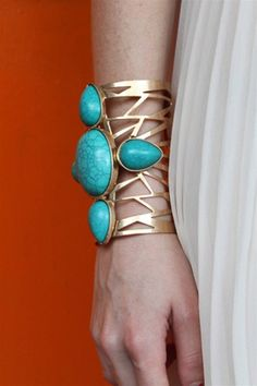 37 Turquoise jewelry trend. women's fashion and accessories.