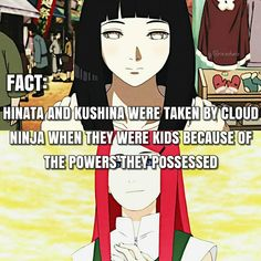 Another great comparison between Hinata and Kushina