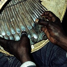 The Mbira instrument of Zimbabwe is probably one of the most difficult instruments to play. Hundreds of years old with a rich recorded history of songs passed down through generations. Depending on the type of Mbira, there are 22-28 metal keys that are played in a plucking motion.