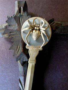 Spider Letter Opener by squirrelnuts on Etsy, $25.00