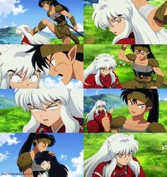 InuYasha after Kikyo's death, he'll never be the same :'(