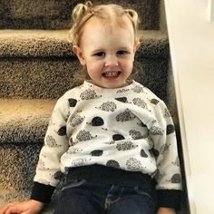 Grateful for friends who send me in adorable photos of their littles. Brooklyn is sporting her hedgehog sweater for spring. Love this girl and her momma!