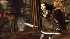 I love Alice's Steampunk dress,!!!