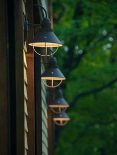 Exterior Lighting - Charlotte, VT Residence - Studio III architects - modern - exterior - burlington - by Studio III architects