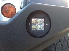 fog light brackets, LED duallys