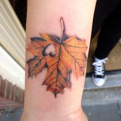 12 fall-inspired tattoos for people who know which season is clearly best