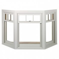 Marvin Bay Windows - Replacement Bay Windows - Bay Window for craft room. With shutters on lower panes? Window Replacement, Windows And Doors, House, Window Brands, Home, Interior, Bay Window Exterior, Windows Exterior, Window Design