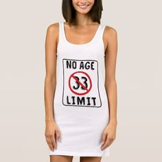 No Age Limit 33rd Birthday Gift Kids Shirt