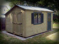 Garden Sheds Rochester Ny cypress 10' wood storage shed kit #storageshedsoutlet | wood sheds