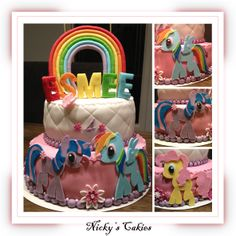 My Little Pony taart #mylittlepony #taart #cake