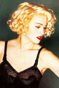 From the video for Express Yourself. Express Yourself was the first Madonna video by David Fincher, who later made films like Alien 3, Seven and Fight Club. He also made the videos for Oh Father, Vogue, and Bad Girl. 1989