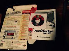 XEROX TextBridge Pro 9.0 inkl. Serial, Handbuch