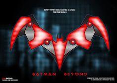 #BatmanBeyond new logo #batman #dc #comics #logo #mechanical #tech #redesign #dkboss7