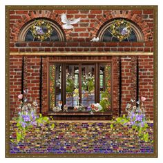 Easter garden by macaulere liked on polyvore featuring interior peeking into easter at the deep river mall by mollygrant garden giftseasterriverspolyvoreclutchesclutch negle Images