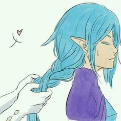 Fi: Ghirahim braids my hair sometimes. Navi Zelda, Zelda Anime, Zelda Hyrule Warriors, Skyward Sword, Estilo Anime, Cartoon Games, Twilight Princess, Anime Style, Studio Ghibli