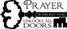 Religoius Quotes - Prayer is the Key