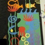 Henri Matisse - Curriculum & Art Projects for Kids Art Elements Taught Shape, Color Art Activity Emphasis Abstract Sea Life Compositions Student Art