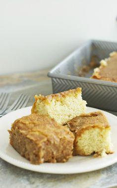 Caramel Cake Gluten Free /LetsBeYummy.com