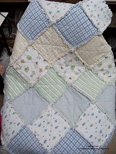 Another good use for baby's receiving blankets