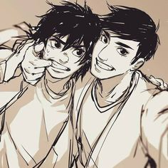 headcanon that tadashi likes to catch people off-guard and take selfies out of the blue. last time he didn't she got startled and he got a hard, quick elbow to the ribs and the wind knocked right out of him. Big Hero 6 Tadashi, Hiro Big Hero 6, Big Hero 6 Baymax, Disney Pixar, Disney And Dreamworks, Disney Art, Walt Disney, Disney Songs, Disney Bound