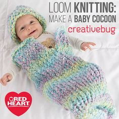 Learn Loom Knitting with Creativebug