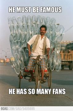 He Has So Many Fans...