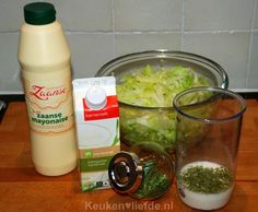 De allerlekkerste sladressing! - Keuken♥Liefde Vinaigrette Salad Dressing, Salad Dressing Recipes, Salad Dressings, Tapas, Real Food Recipes, Healthy Recipes, Cooking Recipes, Lunch Smoothie, Superfood Salad