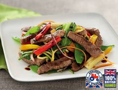 British Beef Stir Fry Strips - looks yummy Beef Stir Fry, Fresh Meat, Looks Yummy, Finger Foods, How To Stay Healthy, Poultry, Giveaways, Great Recipes, Fries