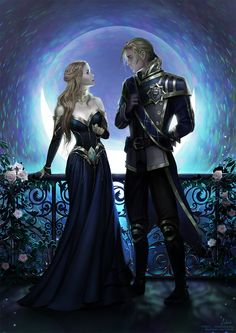 [C] And there they met by Lidiash on DeviantArt Romance Art, Fantasy Romance, Dark Fantasy Art, Fantasy Books, Fantasy Girl, Fantasy Artwork, Beautiful Fantasy Art, Fantasy Characters, Fantasy Love