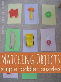 Toddler Approved!: Matching Objects