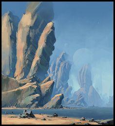 concept art landscape - Pesquisa Google