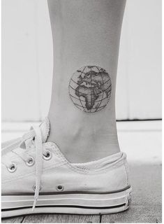Ankle tattoos is the latest trend catching up this year. Ankle tattoos can make your legs look beautiful. Even though this trend is catching up recently.