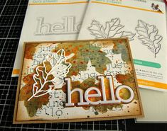 Kath's Blog......diary of the everyday life of a crafter: Simon Says - STAMPtember Blog Party Simon Says, Party, Ss, Blog, Mixed Media, Leaves, Life, Sayings, Lyrics