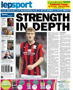 Today's back page 05-09-13