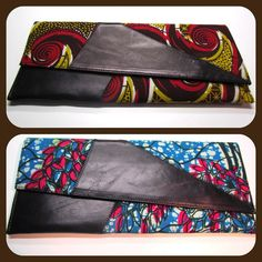 African Print Clutch Purse by ifenkili on Etsy, $30.00