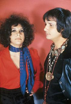 Gal Costa and Roberto Carlos (by Jorge Butsuem)