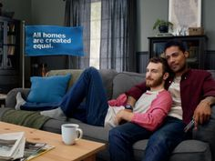 Few companies like Kohl's, Tiffany & Co., IKEA Group Hallmark, Nordstorm, The Coca-Cola Company and Barney's New York support the LGBT rights through advertisements that are genuine and heartwarming. Ikea Ad, Lgbt Rights, Tv Ads, Interracial Couples, Advertising Campaign, Advertising Industry, Tv Commercials, Gay Couple, Public Relations