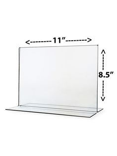 11  x 8.5  Table Tent Frame Ad Flyer Display Counter Top Bottom Load * | eBay  sc 1 st  Pinterest & Name Plate Stand Acrylic Clear Desk Top Name Display Table Tent 6