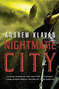 Nightmare City by Andrew Klavan. Officially my favorite Andrew Klavan book, and possibly one of my favorite books of all time. If you haven't read it, read it now. Books To Buy, Used Books, Books To Read, My Books, Christian Fiction Books, Young Adult Fiction, Horror Books, Nonfiction Books, The Book
