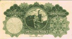 Old Paper Money - Palestine Pound